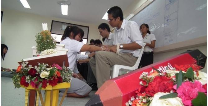 กิจกรรมไหว้ครูสาขาสถาปัตย์ 2554
